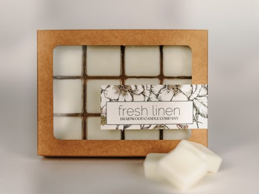 fresh linen wax melts product photo