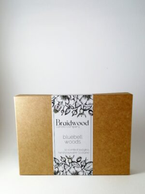 bluebell woods tealights product box